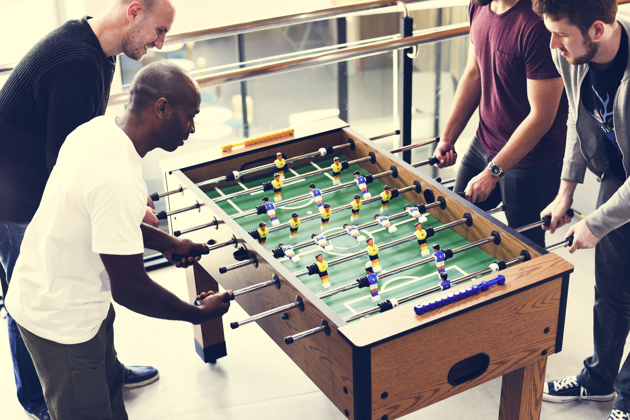 tafel voetbal employee experience